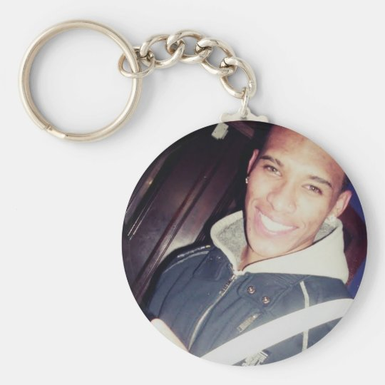 Chaveiro Claudinho Basic Round Button Key Ring