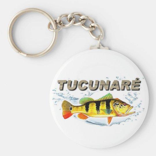 Chaveiro de Pesca - Tucunaré Fish Basic Round Button Key Ring