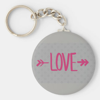 Chaveiro grey Love Key Ring