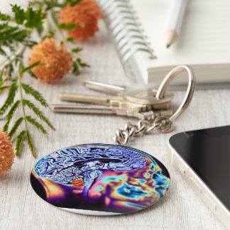 Chaveiro Physiology Basic Round Button Key Ring