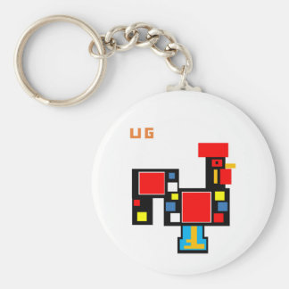 Chaveiro Portuguese Rooster UG 3 Key Ring