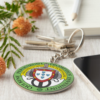Chaveiro Prospectores Metal Basic Round Button Key Ring