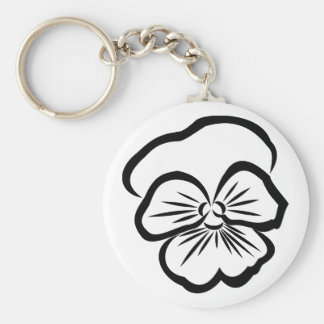 Chaveiro with soon basic round button key ring