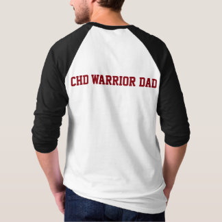 CHD Awareness Don't Be Tachy CHD Warrior Dad Shirt