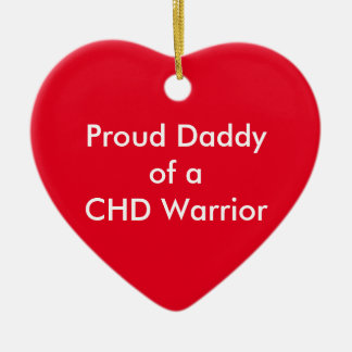 CHD Daddy Ornament