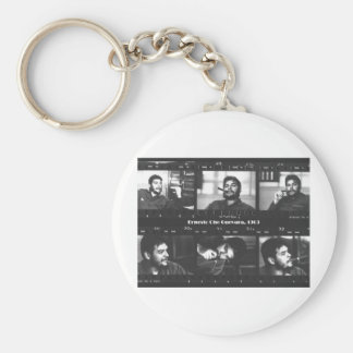 Che33mm Basic Round Button Key Ring