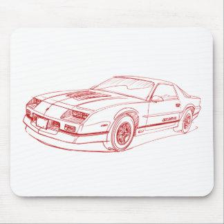 Che Camaro 1990 IROCz Mouse Pad