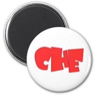 Che cool design! 6 cm round magnet