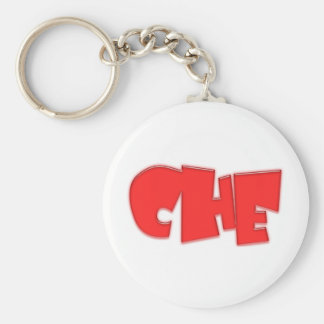 Che cool design! basic round button key ring