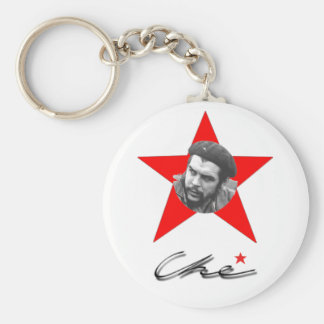 che_guevara_43 basic round button key ring
