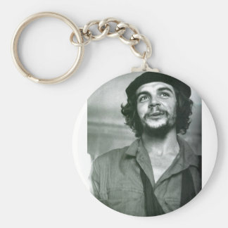 Che Guevara Basic Round Button Key Ring