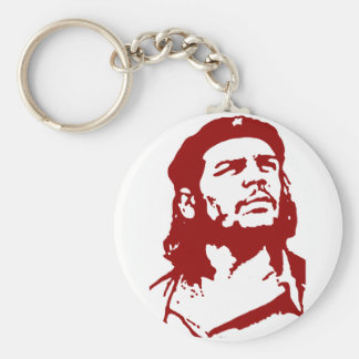 Che Guevara. Basic Round Button Key Ring