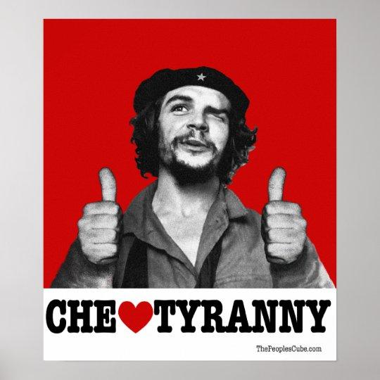 Che Guevara - Che Heart Tyranny Poster