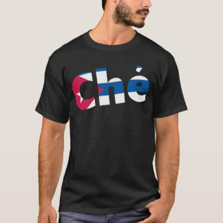 Che Guevara Cuban flag T-Shirt