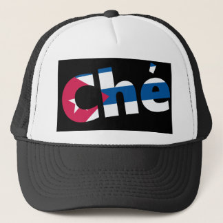 Che Guevara Cuban flag Trucker Hat