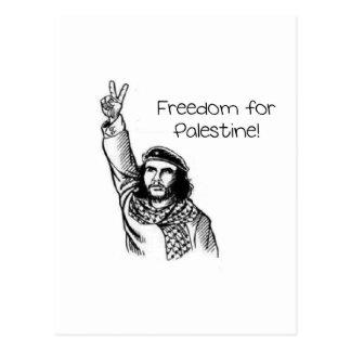 Che Guevara , Freedom for Palestine! Postcard