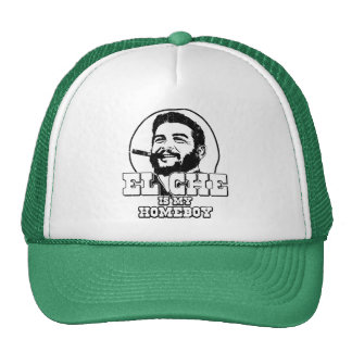 Che Guevara is my Homeboy Mesh Hat