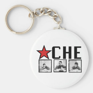 Che Guevara Pictures! Basic Round Button Key Ring