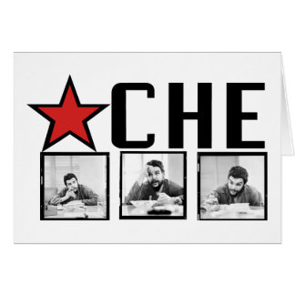 Che Guevara Pictures! Greeting Card