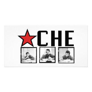 Che Guevara Pictures Custom Photo Card