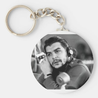 Che Guevara Products & Designs! Basic Round Button Key Ring