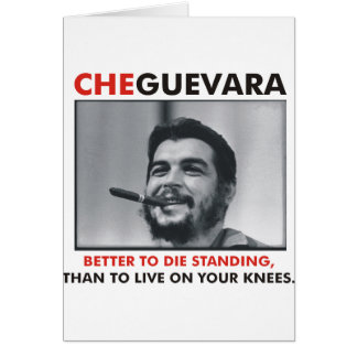 Che Guevara Products & Designs! Card