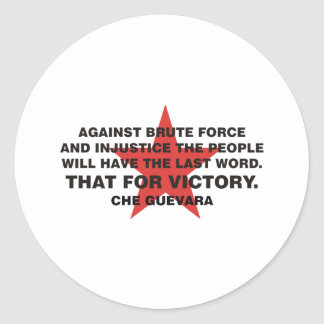 Che Guevara Products! Round Sticker