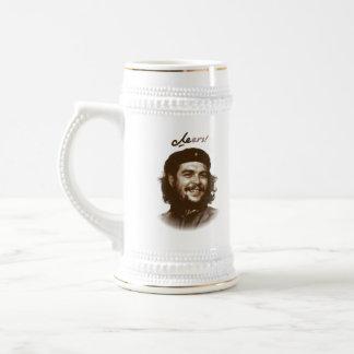 """Che Guevara Smile """"Cheers"""" Beer Stein"""