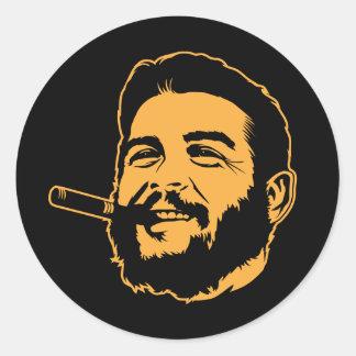 Che Guevara with Cigar Portrait Sticker