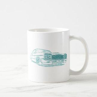 Che Impala 1964 lowrider Coffee Mug