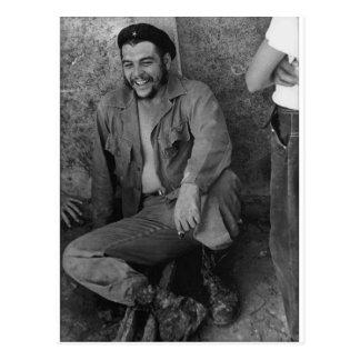 Che laughing post card