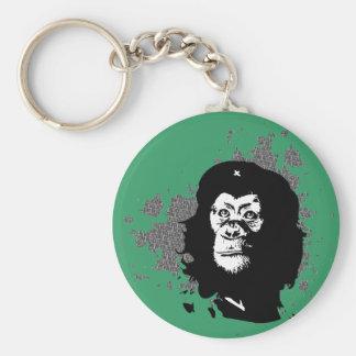 Che Monkeyvara Basic Round Button Key Ring
