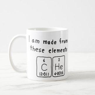 Che periodic table name mug
