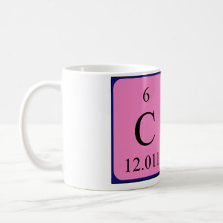 Che periodic table name mug