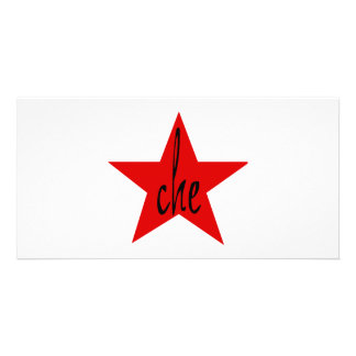 Che Red Star Customized Photo Card