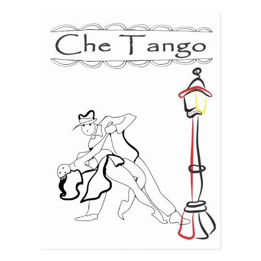 Che Tango Postcard
