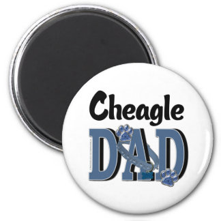 Cheagle DAD Refrigerator Magnet