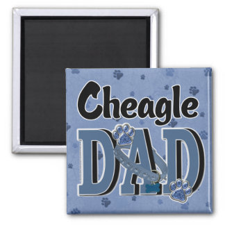 Cheagle DAD Fridge Magnet
