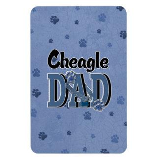 Cheagle DAD Vinyl Magnet