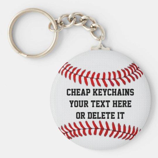 Cheap Baseball Keychains BULK PERSONALIZED, Delete