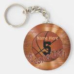 CHEAP Basketball TEAM Gifts Basketball Keychains