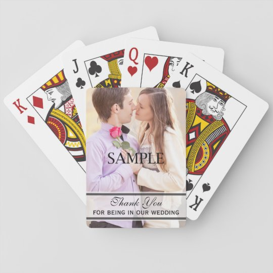 Cheap Bridal or Wedding Party Gifts Playing Cards