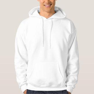 Cheap Comfortable Mens White Customizable Hoodie