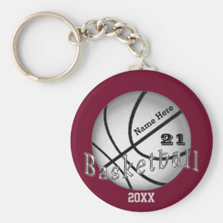 Cheap Custom Basketball Senior Night Gift Ideas Key Ring