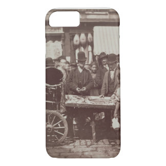 Cheap Fish of St. Giles, from 'Street Life in Lond iPhone 7 Case