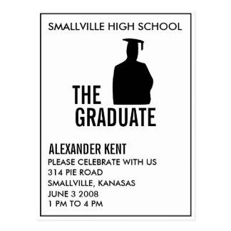 Cheap Grad Invite : The Graduate Postcard
