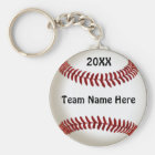 Cheap Ideas for Baseball Team Gifts with TEAM NAME Key Ring