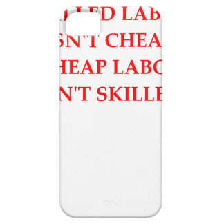 cheap labor iPhone 5 cases