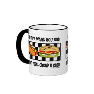 Cheap n Easy Ringer Mug