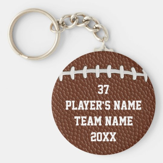 Cheap Personalised Football Gifts for Players BULK Key